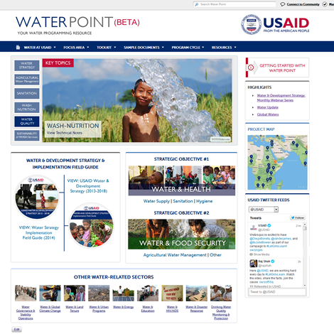 USAID Water Point