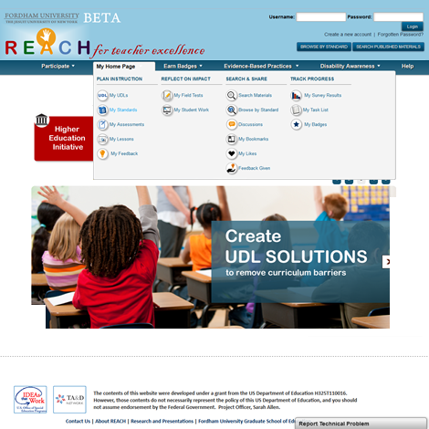 Fordham University/Project REACH