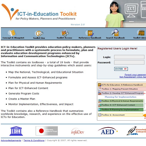 ICT-in-Education Toolkit