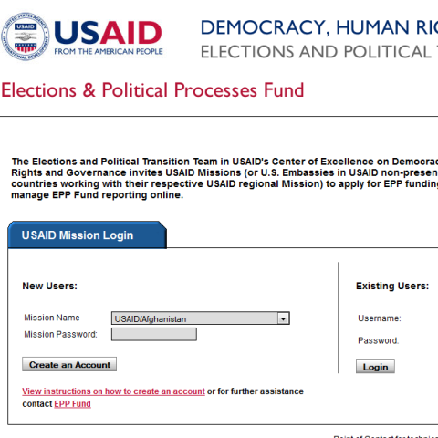 USAID Office of Democracy and Governance