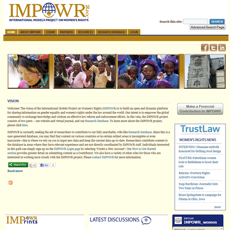 International Models Project for Womens Rights (IMPOWR)